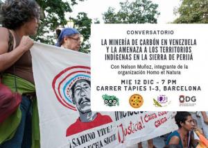 Barcelona: La minería de carbón en Venezuela y la amenaza a los territorios indígenas en la Sierra de Perijá @ Lafede_cat