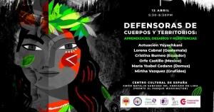 Lima: Defensoras de cuerpos y territorios @ Centro Cultural de España