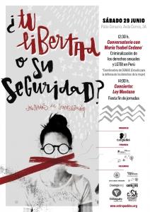Valladolid: Criminalización de los derechos sexuales y LGTBI en Perú @ Patio Corsario