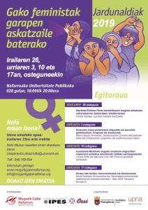 Iruña: Burtsa edo bizitza: transnazionalak eta feminismoak @ 028 gelan