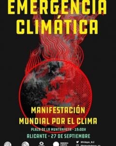 Alicante: Manifestación mundial por el clima @ Plaza de la Muntanyeta