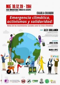 Alicante: Emergencia climática, activismos y solidaridad @ Sede Universitaria Ciudad de Alicante