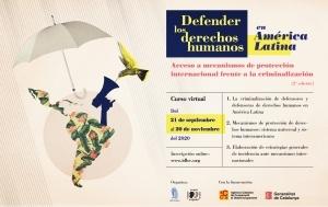 Defender los derechos humanos en América Latina: acceso a mecanismos de protección internacional frente a la criminalización (2ª edición) @ aulaIDHC.org