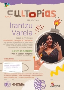 Burgos. Cultopías presenta a Irantzu Varela @ Espacio Tangente