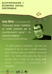 Es Mercadal: La economía social y la solidaridad @ Sala multifuncional de Mercadal