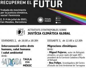 """""""Recuperem el futur"""". DDHH, salut humana i ambiental, desastres ecològics a Mèxic"""