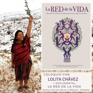 """Valladolid: Coloquio con Lolita Chávez y documental """"La red de la vida"""" @ La Molinera"""