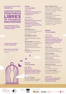 Encuentros internacionales feministas: Construyamos territorios libres de violencias machistas