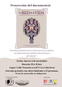 """Proyección del documental """"La Red de la Vida"""" @ CVA La Colectiva"""