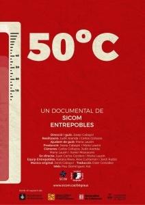 "Estrena documental ""50ºC"" @ Cinemes Girona"